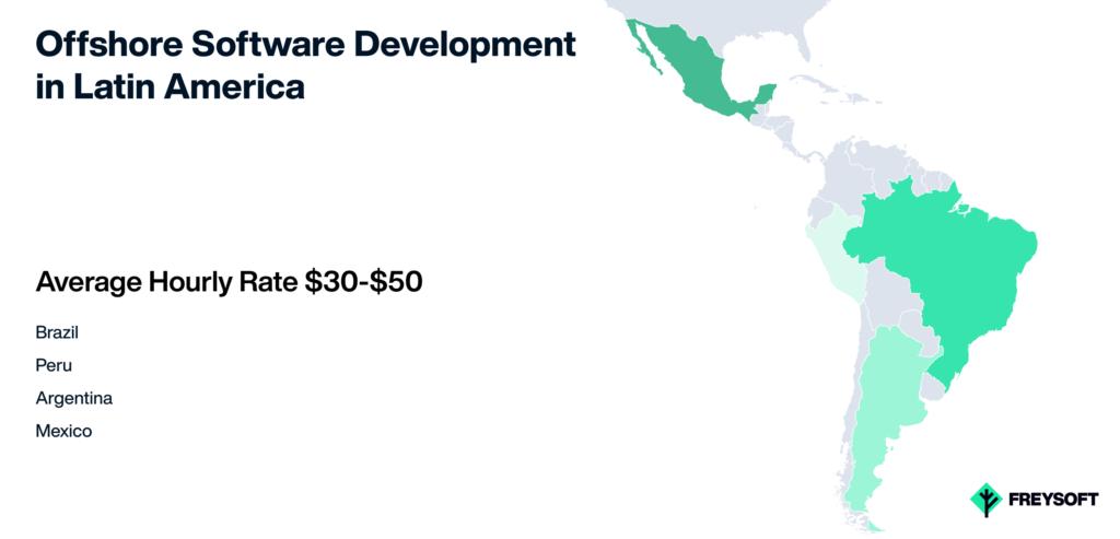 Offshore software development in Latin America